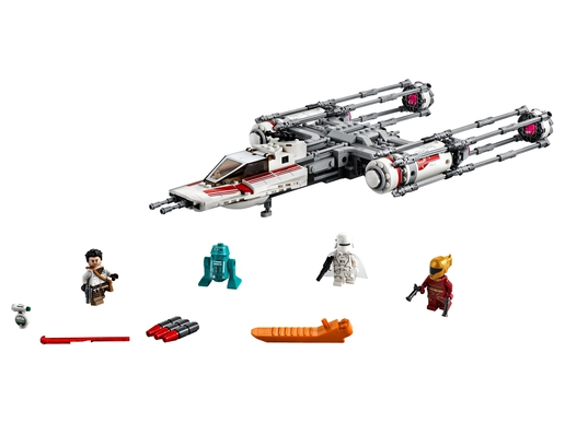 LEGO Star Wars: The Rise of Skywalker Resistance Y-Wing Starfighter 75249 Building Kit